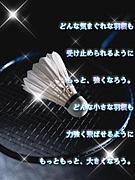 ☆フリースタイル☆バドミントン