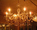 友達の家の照明がシャンデリア