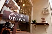cafe chocolate brown