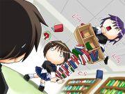 最強の怪力少女 芽衣の図書室