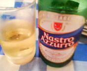 日曜午後のビール