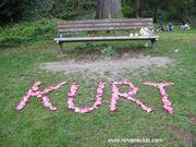 Kurt's Bench in Viretta Park