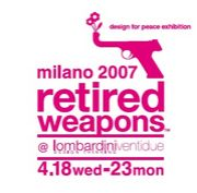 behind the retired weapons