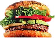 ハンバーガーが大好きだ!