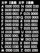 二進数で名前を暗号化