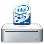 Mac mini に Intel Core 2 Duo
