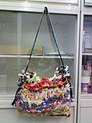 レジ袋編み