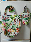 hawaiian fula girls bag