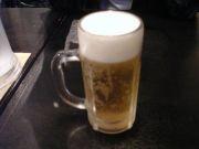すきっ腹にビール!!!!!!