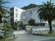 鹿児島県立国分高校。