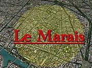 パリ マレ地区好き集マレ!
