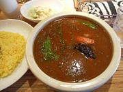 札幌スープカレー  食べました♪