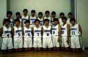 徳島県立城北高校バスケット部。