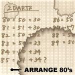 Darts Arrange 80's