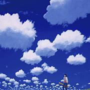 あの夏の白い雲