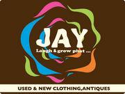 JAY   used & new clothing