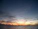 こんな夕日が沈む海