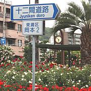 十二間道路(神戸東灘)