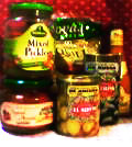 保存食品のラベル*輸入食材*