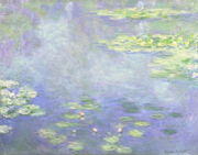 睡蓮 Claude Monet
