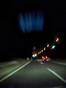 夜の国道357号線