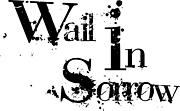 wail in sorrow