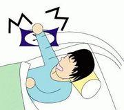 目覚まし時計を寝たまま消す人