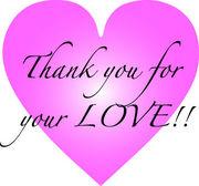 あなたの愛に「ありがとう」