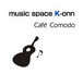 music space K-onn Cafe' Comodo