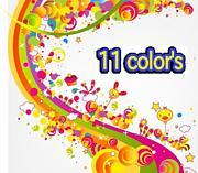 11 color's