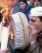 煙草吸いますけど何か?