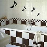 ♪お風呂で音楽