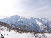 朝日連峰・月山