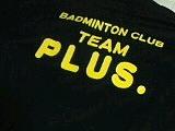 BADMINTON CLUB 【TEAM PLUS.】