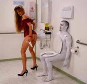 考えごとはトイレで