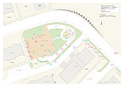 日野市高幡芙蓉公園放射線マップ