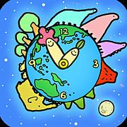 「ちきゅう時計」絵本アプリ