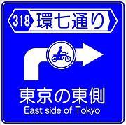環七のバイク乗り in東東京