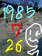 1985年7月26日うまれのひと