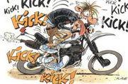 【kick!】キック始動【kick!】