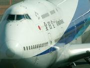 ANAのB747-400(D)がスキ♪