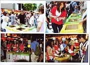 祇園祭でゴミ分別ボランティア