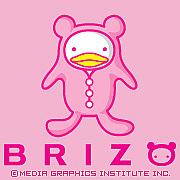 ピンクのくま★ブリゾー BRIZO