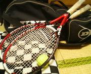 テニスしよう〜♪