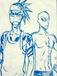 一角と恋次の師弟コンビが好き。