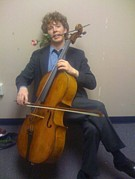 Cellist Joshua Roman