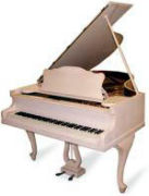 猫脚ピアノ