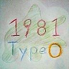 1981年度生まれ道産子O型