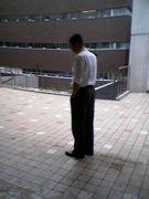 成蹊大学5号館前喫煙所