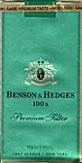 ★BENSON & HEDGES 好き?★
